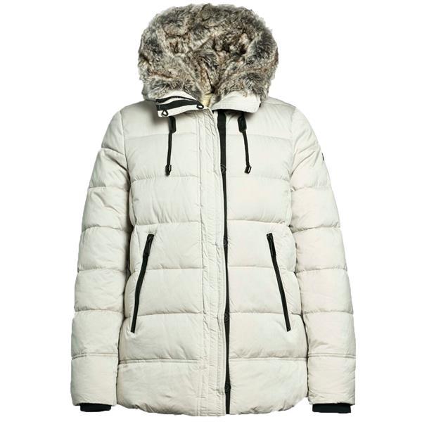 Witte dames jas Reset Charlotte - 8080 Shell