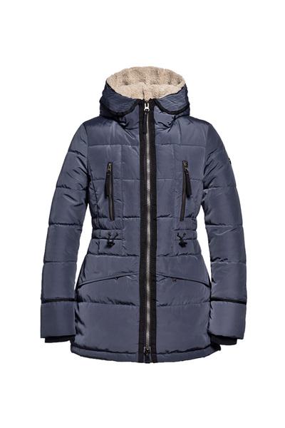 Donkerblauwe dames jas Reset Jade - 530 denim blue