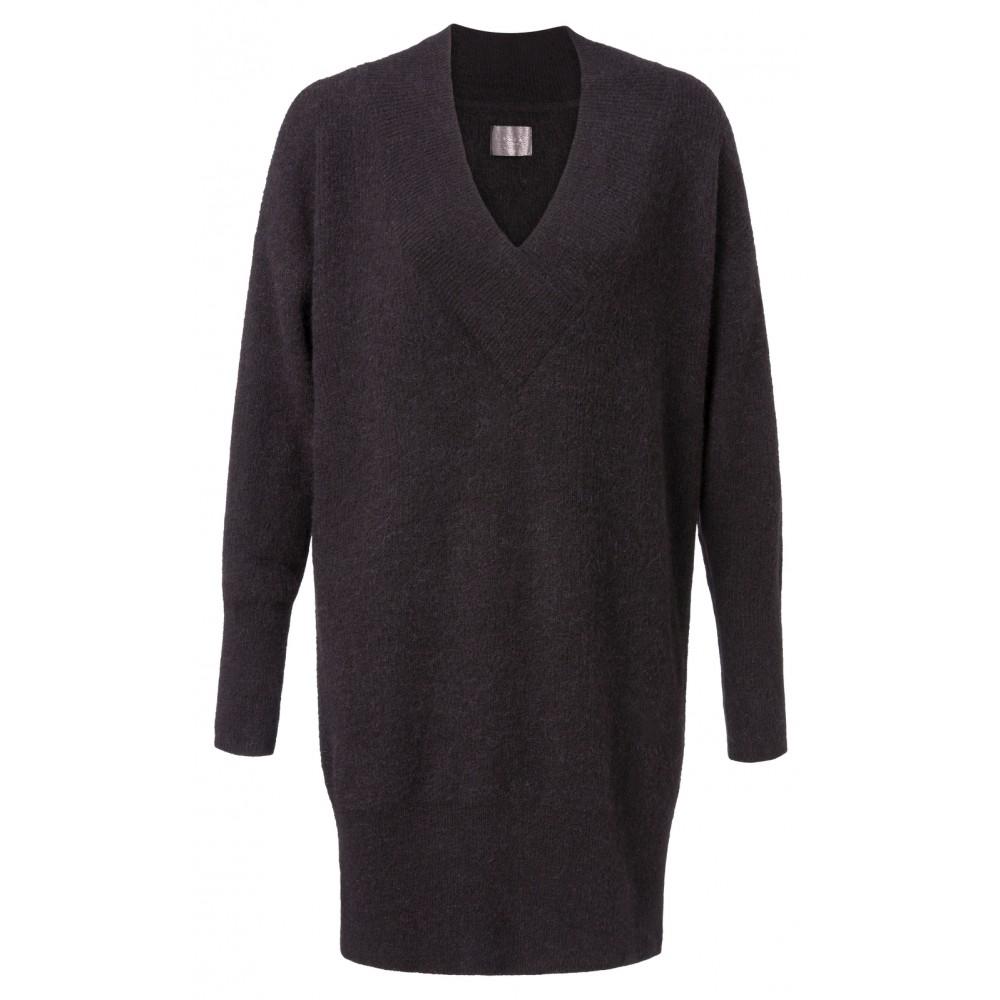 Zwart dames jurk YAYA - 180040-824