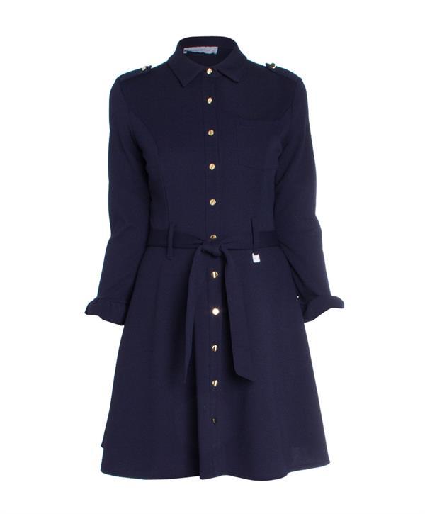 rinascimento jurk donkerblauw