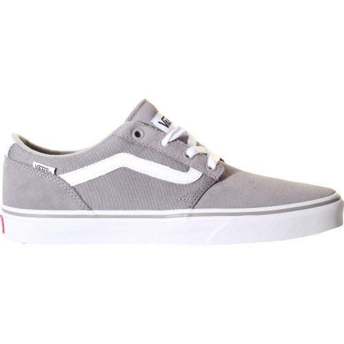 Grijs witte heren sneaker Vans Chapman Stripe - VN0A38CBIM
