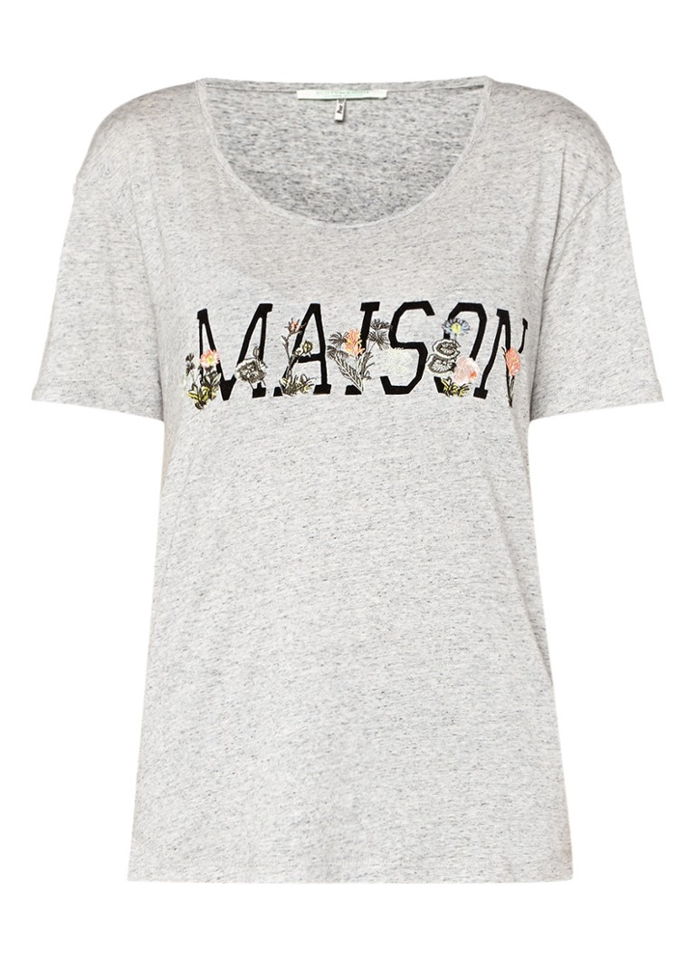 Grijs dames shirt Maison Scotch - 137344
