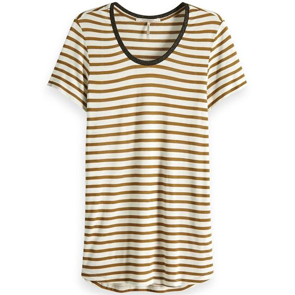 Gestreepte dames top Maison Scotch - 150174