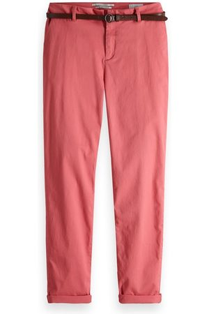 Roze dames chino Maison Scotch - 149951