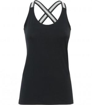 zwarte top Summum model: 3s3824-3726a in dessin:990