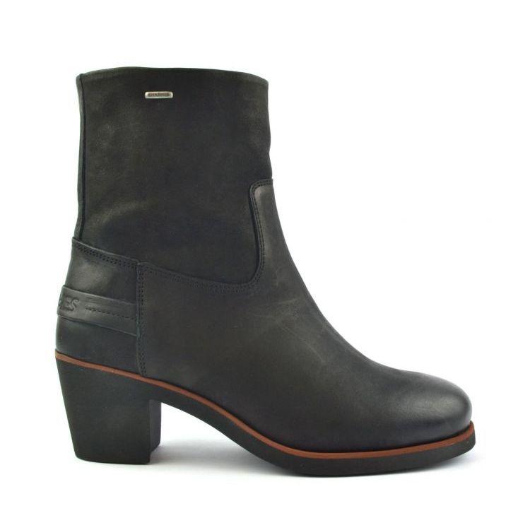 Zwarte dames enkellaars Shabbies - 182020047