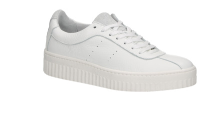 Witte dames sneaker Shoecolate/Monshoe / 65271241