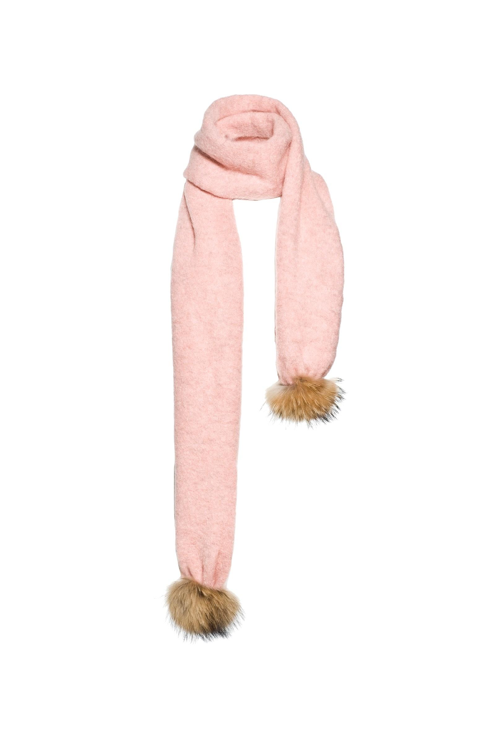 Roze dames sjaal Goldbergh GB43-11-163