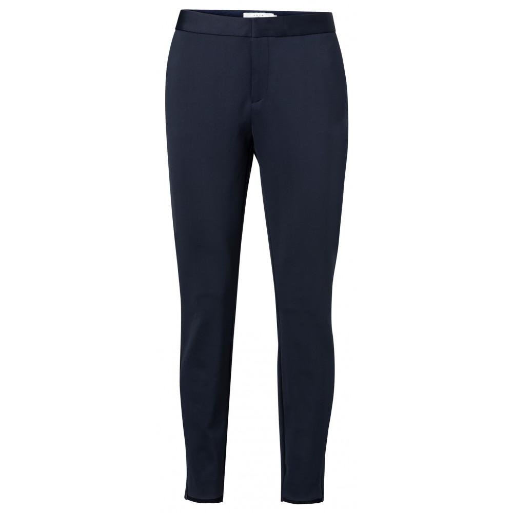 Donkerblauwe slim-fit dames broek YAYA - 121941-922, 93922