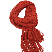 Barts Brita scarf rust