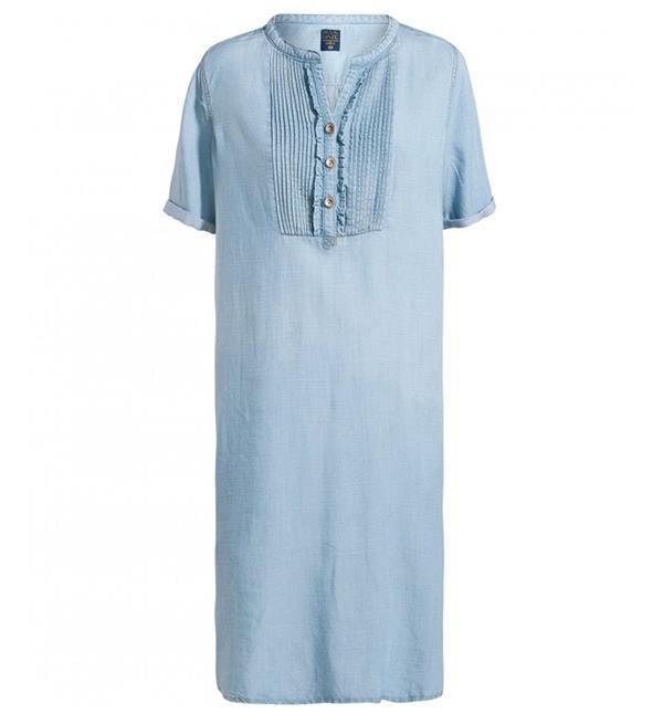 Lichtblauwe dames spijkerjurk Summum blue daze - 5s929