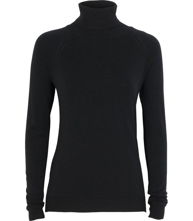 Zwarte dames coltrui Summum - 7s5139-7547B