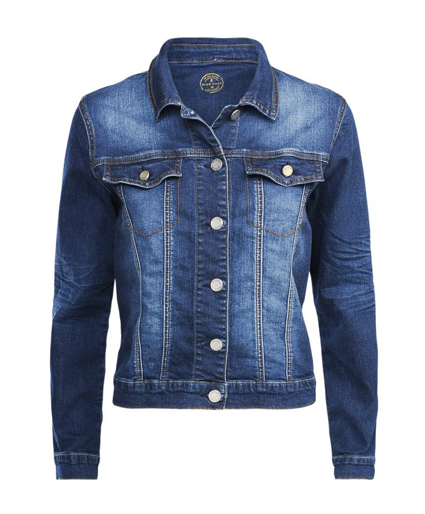 Denim blauw dames jack Summum - 1S944-5002