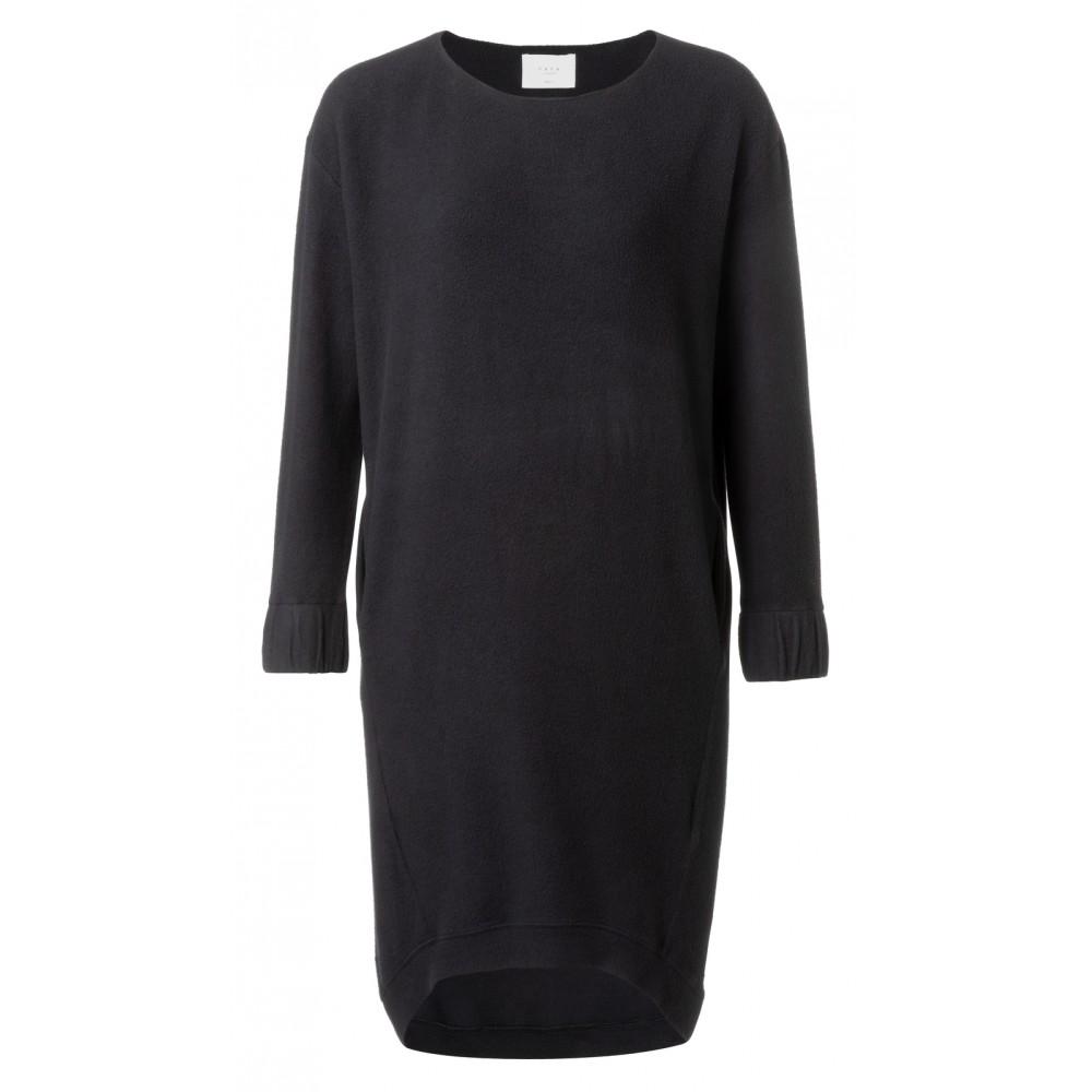 Zwarte sweaterjurk YAYA - 180951-924 - 00001