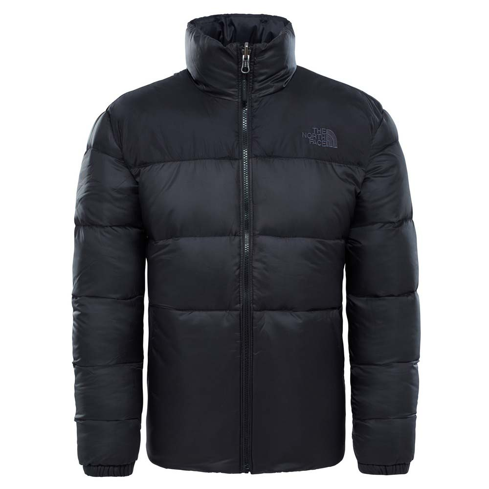 Zwarte heren jas The North Face Nuptse 3 - T933ITJK3