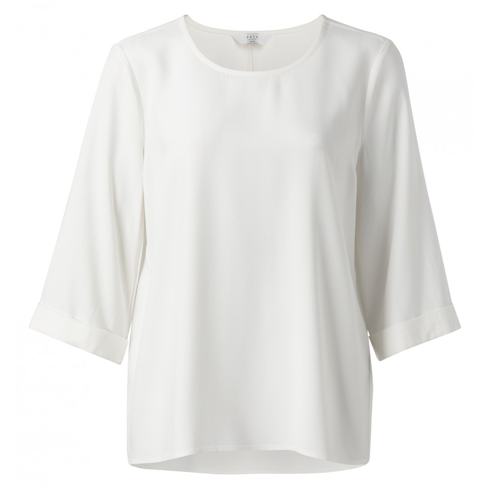 Witte dames top YAYA - 1901117-911