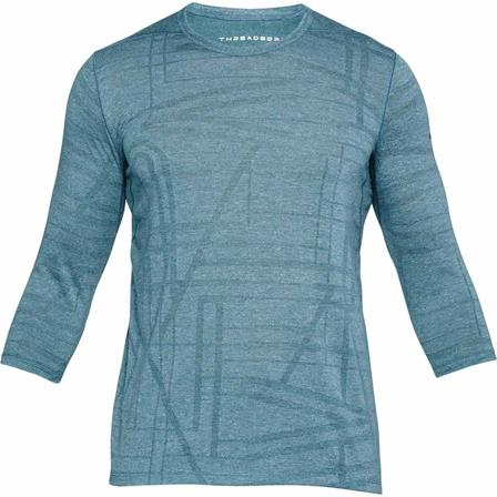 Blauw groen heren shirt Under Armour - 1312339