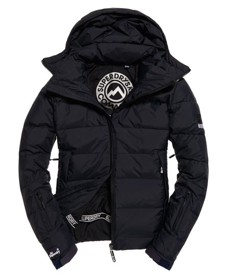 Donkerblauw heren ski/winter jack Superdry - M50000COF1