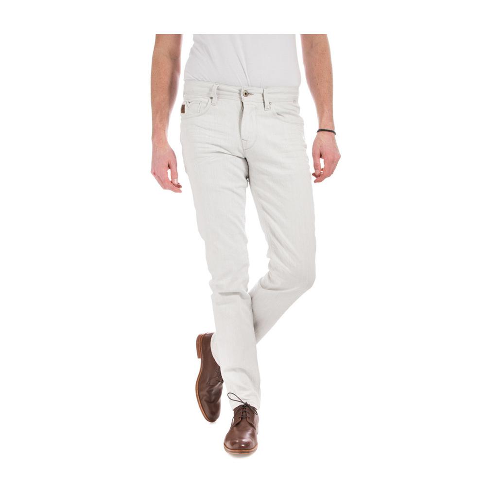 Beige/lichtgrijze heren jeans Vanguard - VTR71566-BFB
