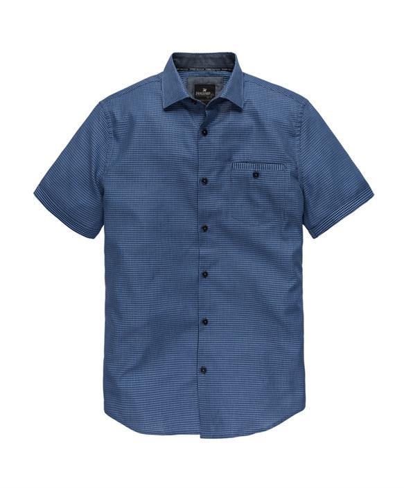 Blauw heren overhemd km Vanguard - VSIS183420