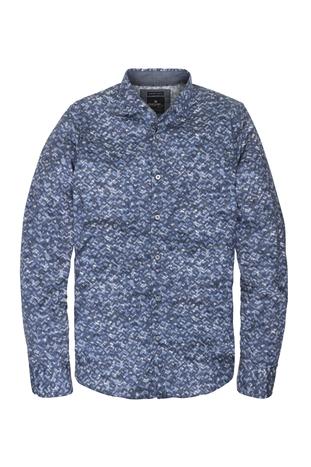 Blauw heren overhemd Vanguard - VSI71406