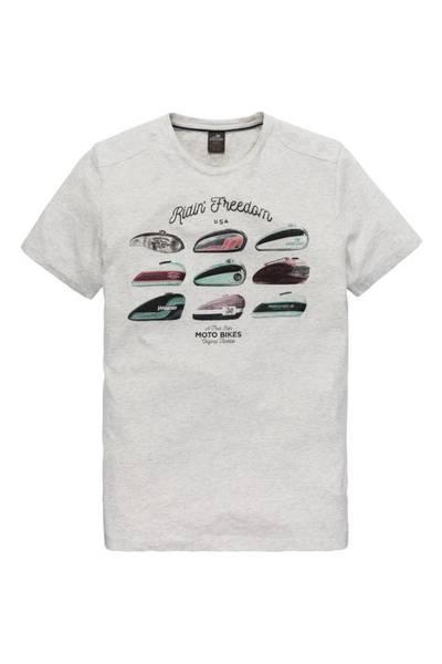 Grijs heren shirt met opdruk Vanguard - VTSS183696