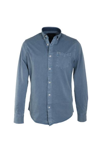 Blauw heren overhemd Vanguard - VSI176414