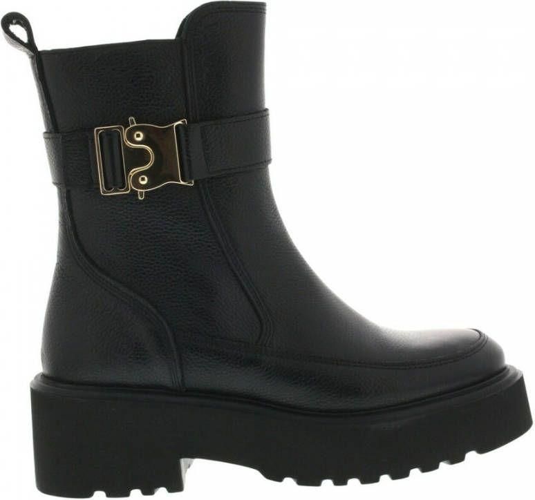 Zwarte dames boots - VIAVAI - bobbi tortuga nero - 57468-01-900
