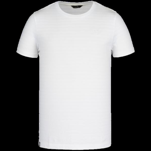 wit heren shirt - vanguard - 7003