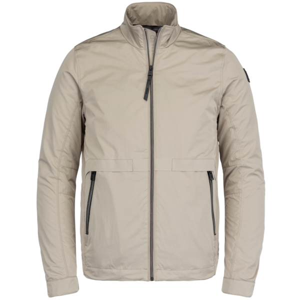 creme heren jas - vanguard - zip jacket micro peach shiftstand - 8023