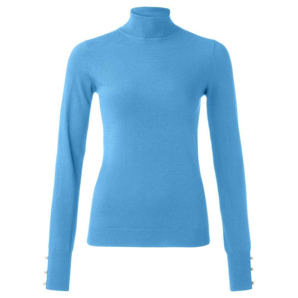 Blauwe dames col YAYA - 100064-824