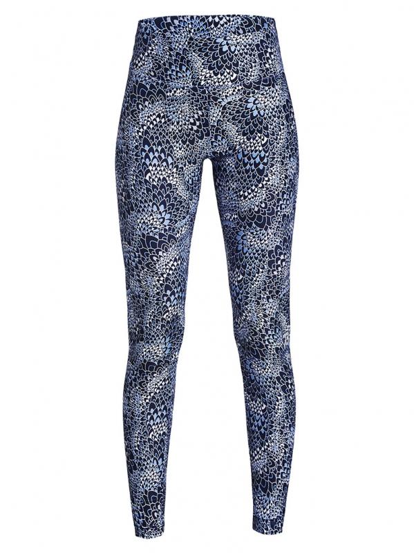 Donkerblauw/blauw geprinte dames yoga legging Rohnisch - 276012