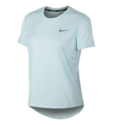 Sportique Zeewolde :: SPORT :: Lichtblauw Dames T-shirt Nike ...
