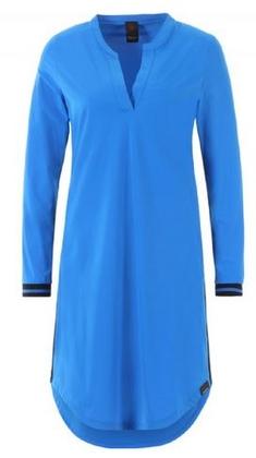 blauwe jurk dames