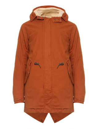Gebrand oranje parka jas heren Scotch & Soda - 145193 - 0119