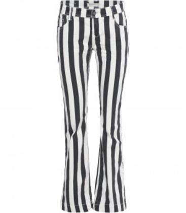 Onwijs Sportique Zeewolde :: DAMES :: Zwart wit gestreepte dames jeans EX-67