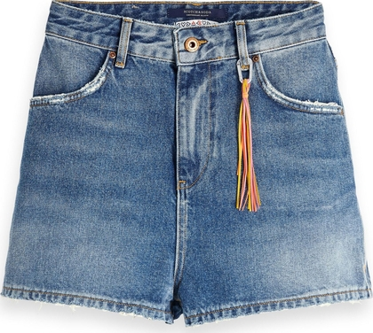 Blauwe dames short Maison Scotch - 148680