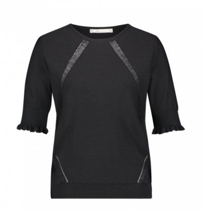 Zwarte dames top - Aaiko - Raissa - 900 black