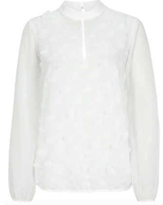 Witte dames blouse - S. Oliver - 0200