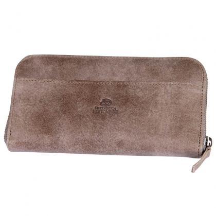 Fred de la Bretoniere Big Wallet Tribe Taupe
