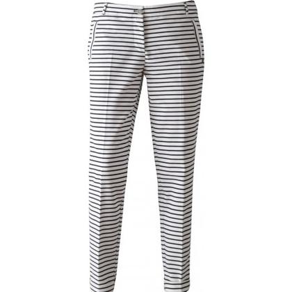 Voorkeur Sportique Zeewolde :: DAMES :: Zwart wit gestreepte dames broek #CQ93